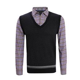 J7601 羊毛衫背心款