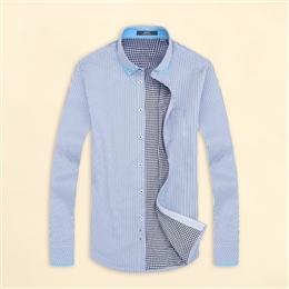 HB16-2 新款加绒涤棉衬衫